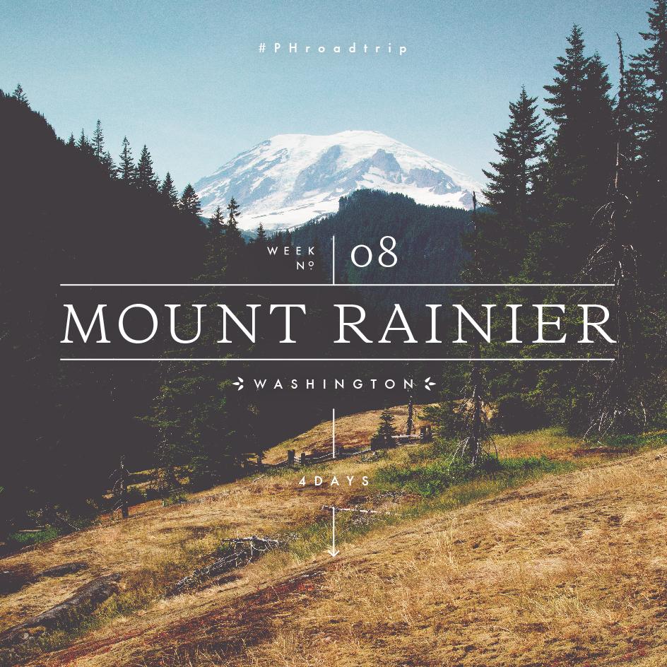 Mount Rainier National Park, WA | picklesnhoney.com #PHroadtrip