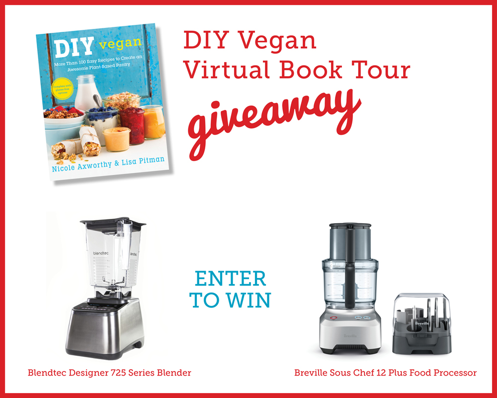 Enter to win a Blendtec blender or Breville food processor!