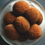 Gingerbread Dark Chocolate Truffles