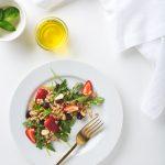 Arugula, Almond & Farro Salad
