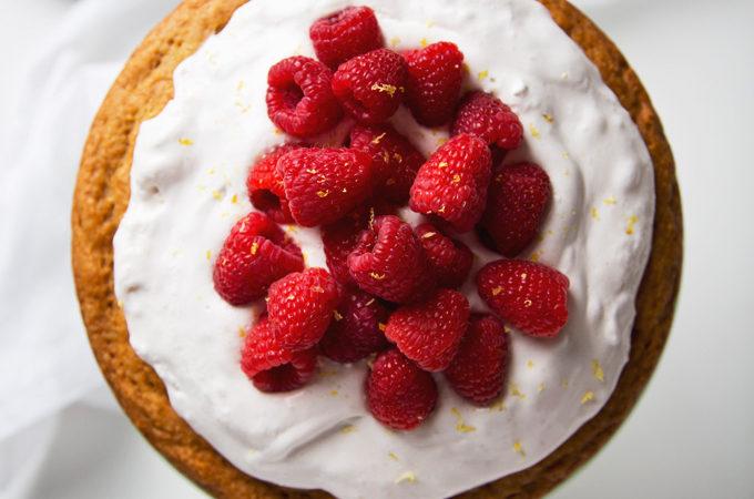 Simple Lemon Yogurt Cake   picklesnhoney.com #vegan #cake #lemon #dessert