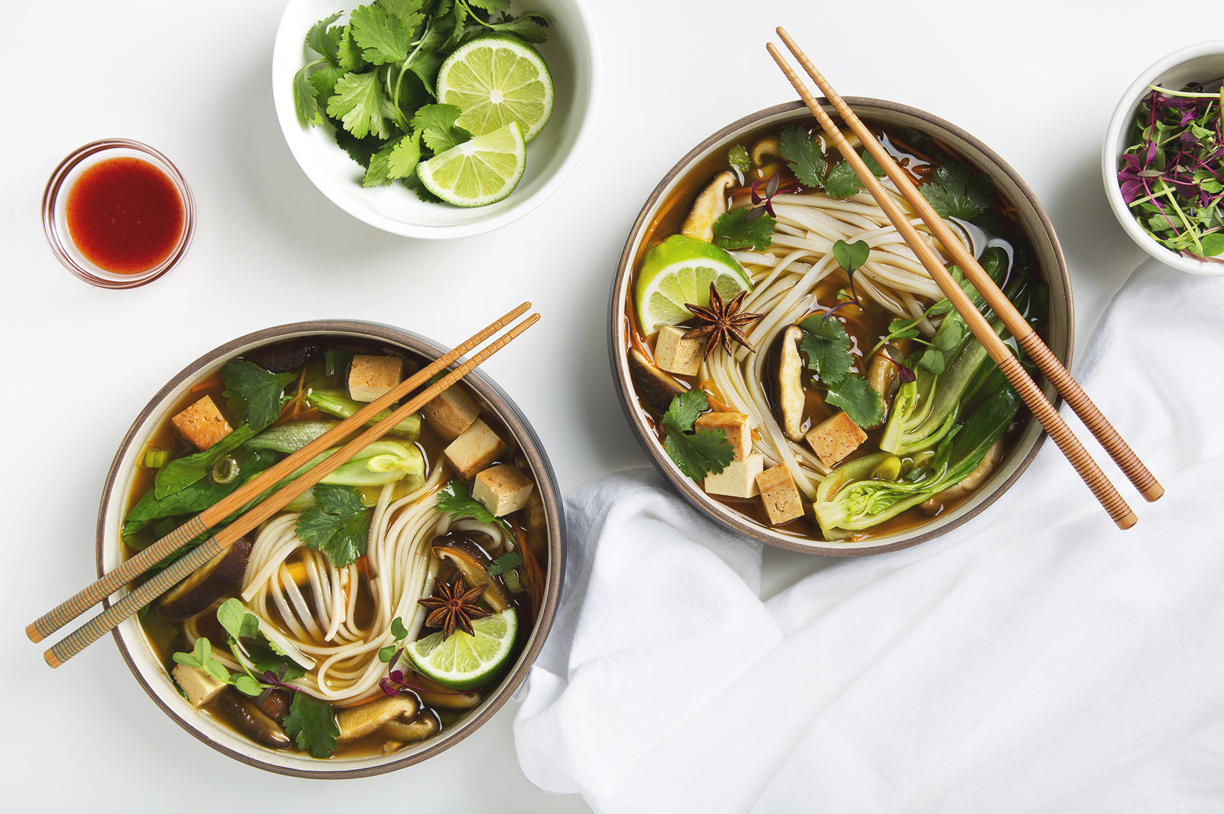 30 Minute Vegan Pho | picklesnhoney.com #vegan #pho #recipe