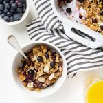 Coconut, Lemon & Blueberry Baked Oatmeal
