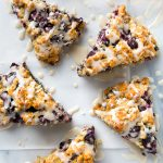 Simple Vegan Blueberry Scones