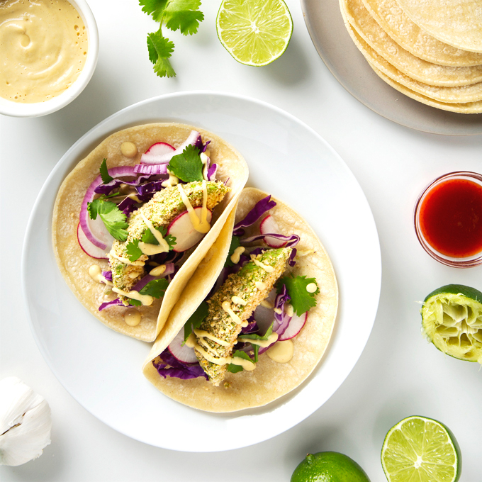 Crispy Avocado Tacos | picklesnhoney.com #vegan #avocado #tacos #glutenfree #recipe
