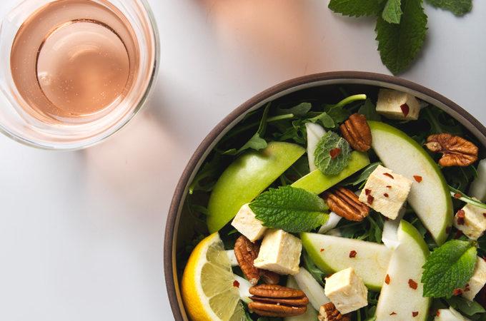 How to Make Tofu Feta Cheese | picklesnhoney.com #tofu #feta #cheese #vegan #recipe