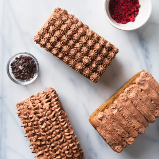Cold-Brew Protein Breakfast Cake