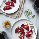 Raw Beet Ravioli with Vegan Cashew Cheese