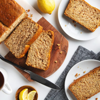 Simple Lemon Poppy Seed Bread