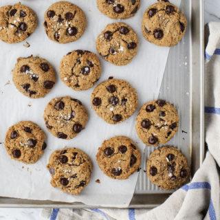 Flourless Almond Chocolate Chip Cookies