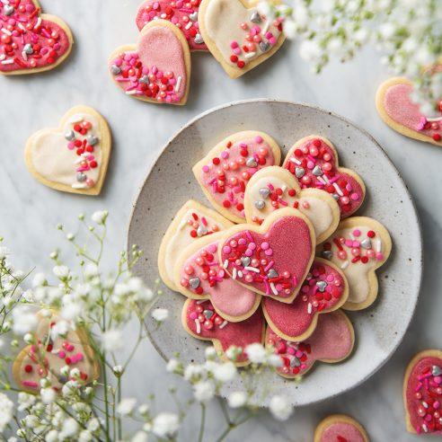 Vegan Sugar Cookies   picklesnhoney.com #vegan #cookies #sugarcookies #recipe