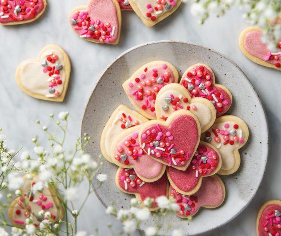 Vegan Sugar Cookies | picklesnhoney.com #vegan #cookies #sugarcookies #recipe