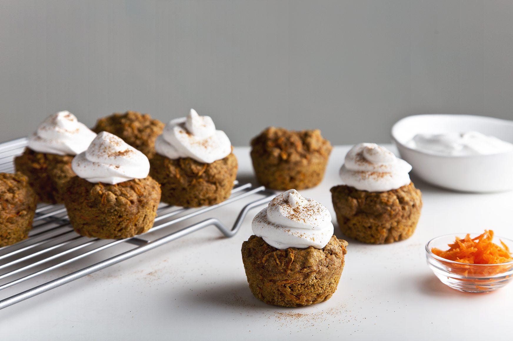 Hippie Vegan Carrot Muffins | picklesnhoney.com #vegan #wholegrain #carrot #muffins #recipe