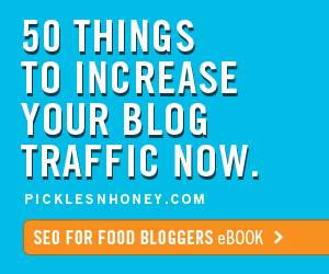 SEO for Food Bloggers eBook